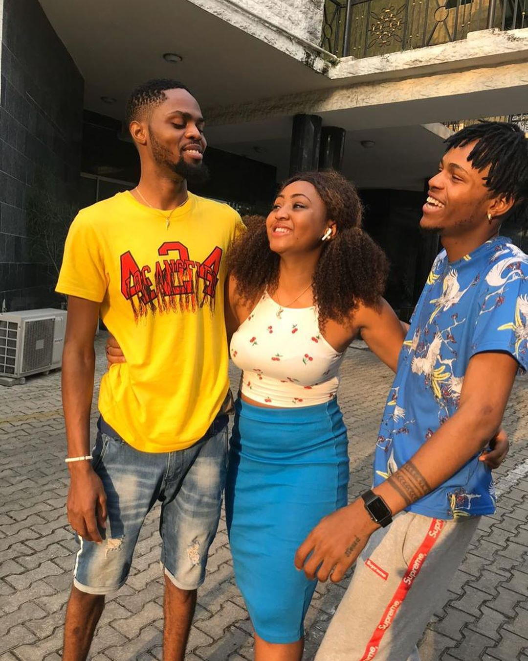 Regina Daniels celebrates her brother Samuel Daniels as he turns a year older (Photos)