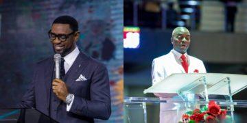 COZA pastor, Fatoyinbo attends Winners' Shiloh event