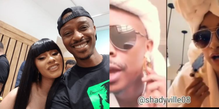 Cardi B meets with Nigerian Instagram comedian who mimics American celebrities (video)