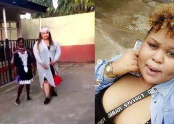 Lady recounts how she was thrown out of Abuja church because she wore this to church (VIDEO/PICS)