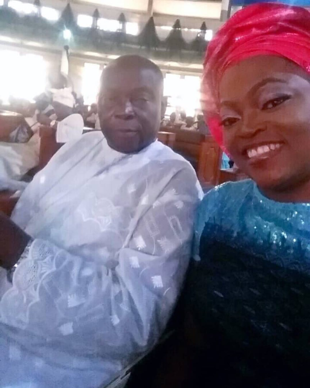 Nollywood actress Funke Akindele loses dad