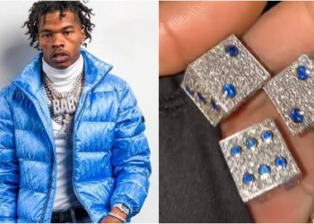 American rapper Lil Baby buy the world's most expensive Dice with VVS Diamond (Video)