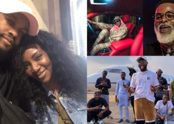 Nigerian Celebrities who came from super rich families (Photos)