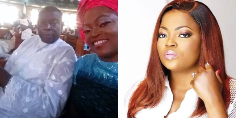 Nollywood actress Funke Akindele loses dad