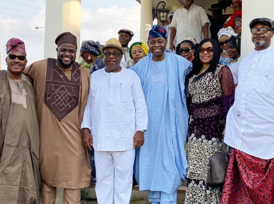 Photos from wedding introduction of Davido's brother, Adewale Adeleke