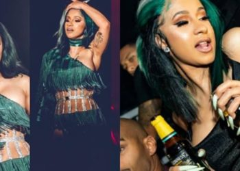I'm missing Nigeria, please take me back - Cardi cries out (Video)