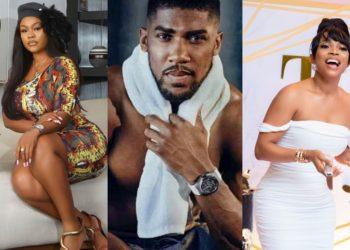'Leave my husband alone' – Daniella Okeke and Toke Makinwa fight each other over Anthony Joshua