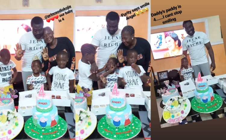 My baby is a big girl now - Mercy Johnson gushes as her daughter, Angel celebrates 4th birthday (Video)
