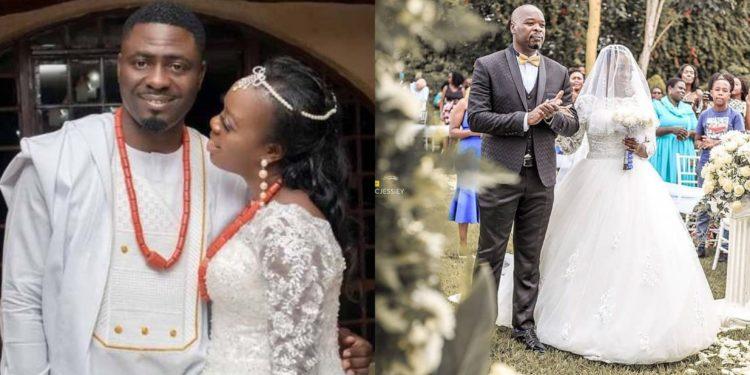 Popular Kenyan singer Ruth Matete, marries her Nigerian boyfriend after 38 breakups (Photos)