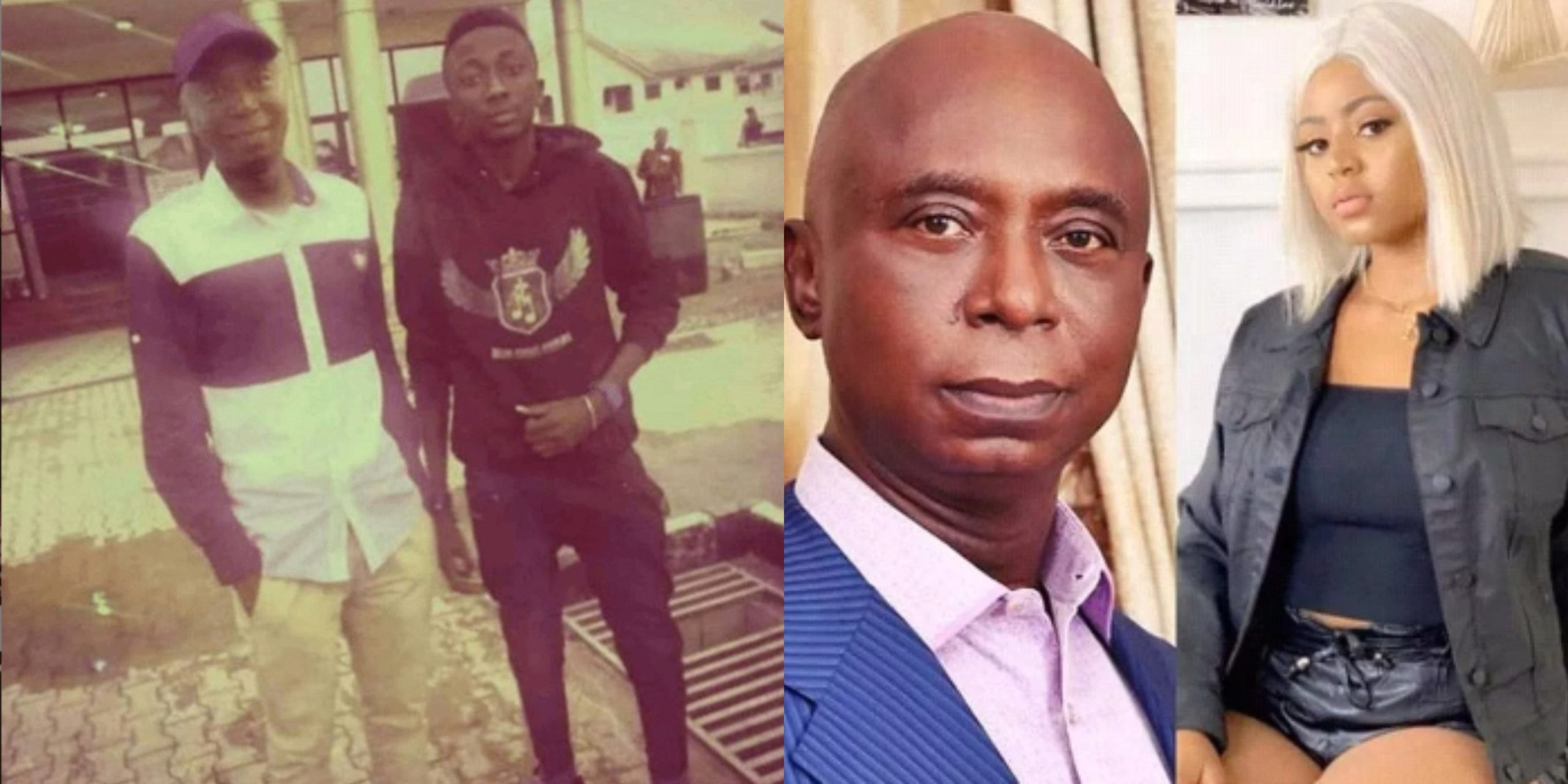 How Regina Daniels allegedly caused a fight between her stepson and Ned Nwoko - Son shares throwback photos with his dad