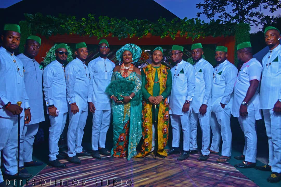 More beautiful pictures and Video as Actress Chizzy Alichi traditionally weds her husbanMore beautiful pictures and Video as Actress Chizzy Alichi traditionally weds her husband-to-be in Enugud-to-be in Enugu