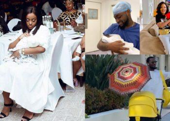 10 Nigerian celebrities who welcomed babies in 2019 (Photos)