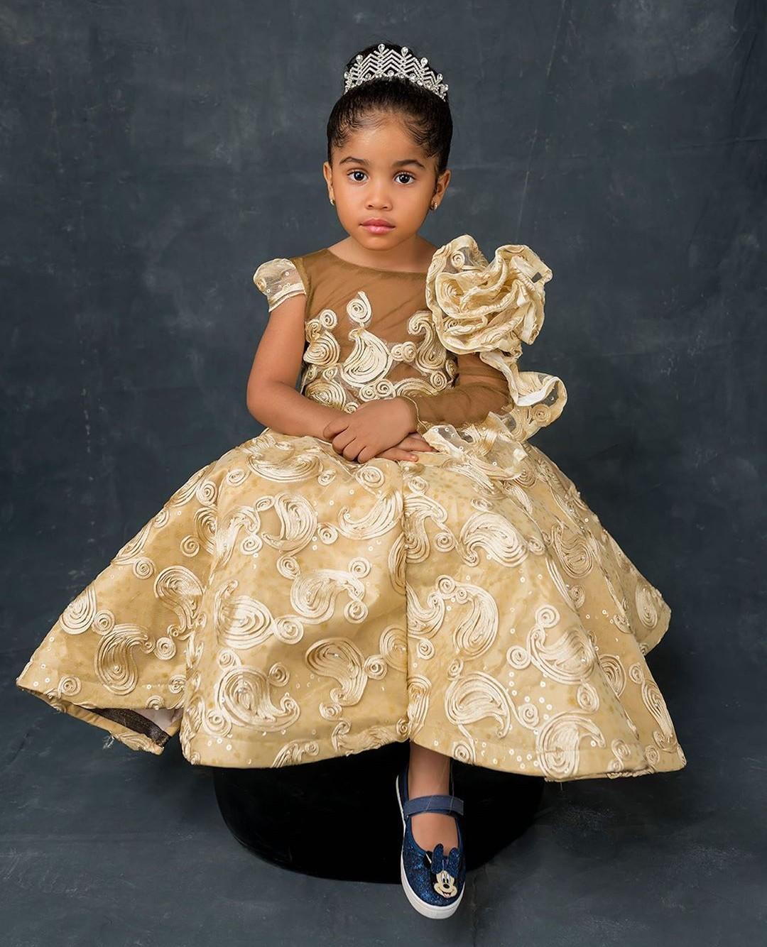 Nollywood Actress Anita Joseph shares photos of her adorable daughter
