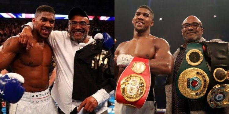 Meet Anthony Joshua's dad, Robert, who helped him from being a drug addict to heavy weight champion (Photos)