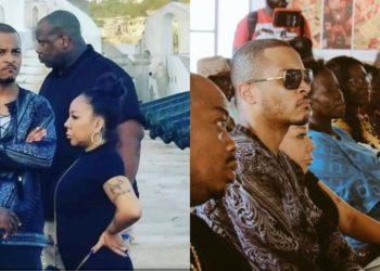 T. I and wife Tiny angry after hearing slave trade history