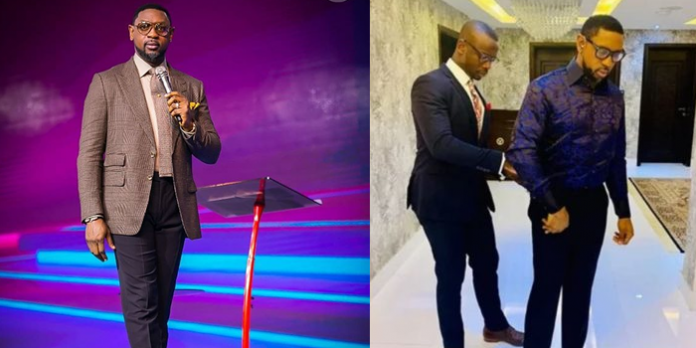 Biodun Fatoyinbo reveals secret act he does before mounting COZA Pulpit