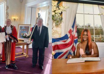 BBNaija star Uriel Oputa becomes British citizen (Photos)