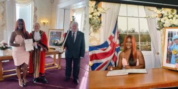 BBNaija star Uriel Oputa becomes British citizen (Photos)