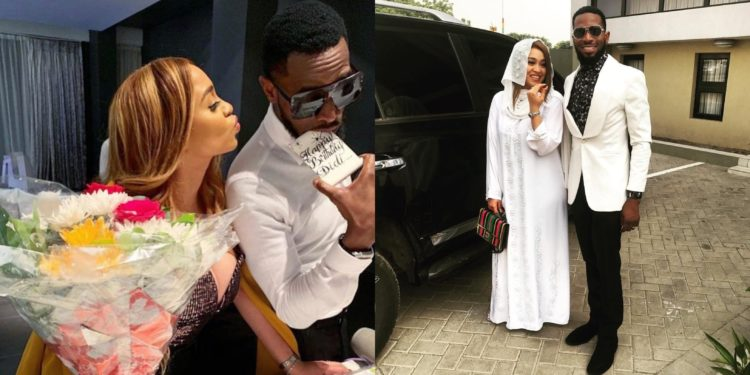 D'banj's wife, Lineo pens down heartfelt message as she shares first photos of her son