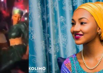 Presidential Groove! Buhari's Daughter, Zahra Buhari Spotted digging it low in a club