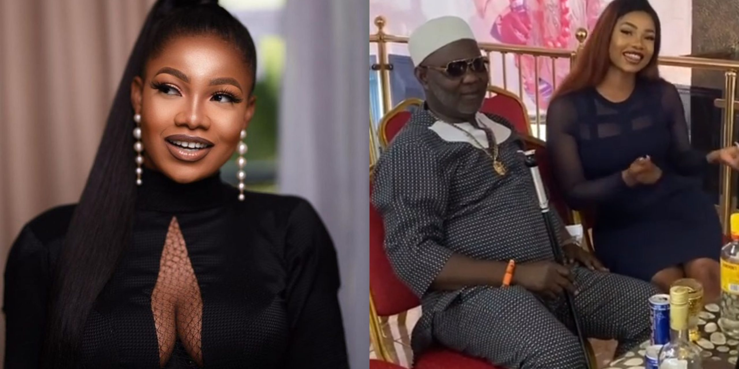 Reality star, Tacha hangs out with Rivers Monarch (video)