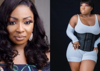Please wear your bra - Fans react as Anita Joseph bares it all to the world in sheer singlet (Photos)