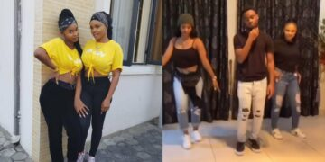 Iyabo Ojo and her grown-up children enter the New Year with lovely family dance (Video)