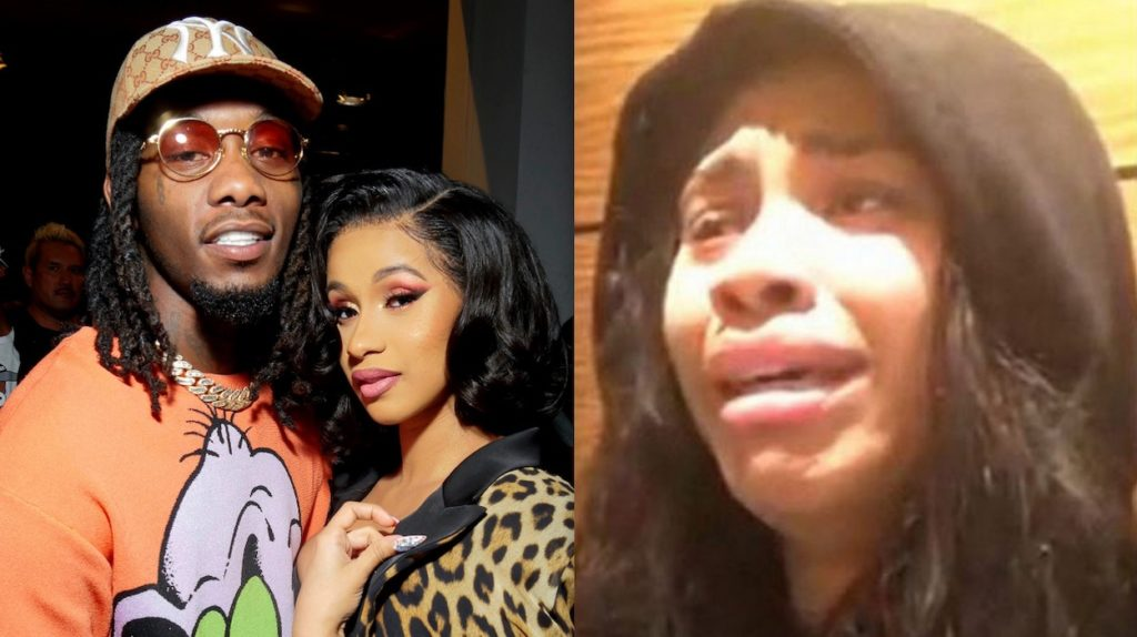 Cardi B Tries To Convince Her Husband, Offset To Change Nationality Too