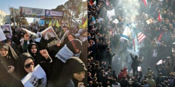 35 mourners die and 48 injured during stampede at funeral of Iranian General Qassem Soleimani
