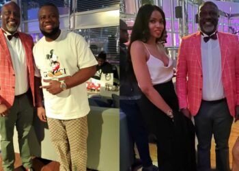 Beautiful photos from Sen. Dino Melaye's private birthday dinner in Dubai