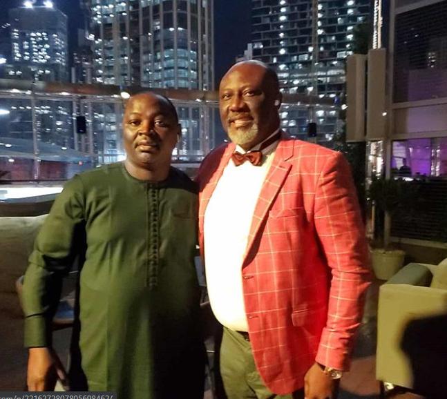 Beautiful photos from Sen. Dino Melaye's private birthday dinner in Dubai