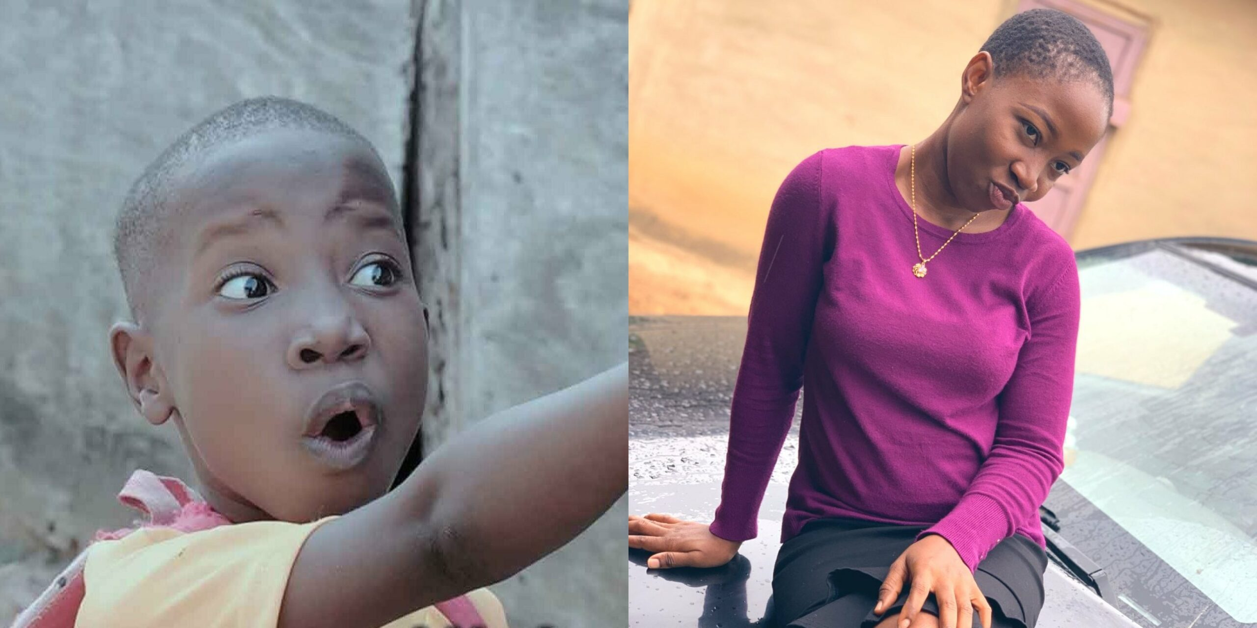 How did Emmanuella become this big? Comedienne lookalike photo goes viral