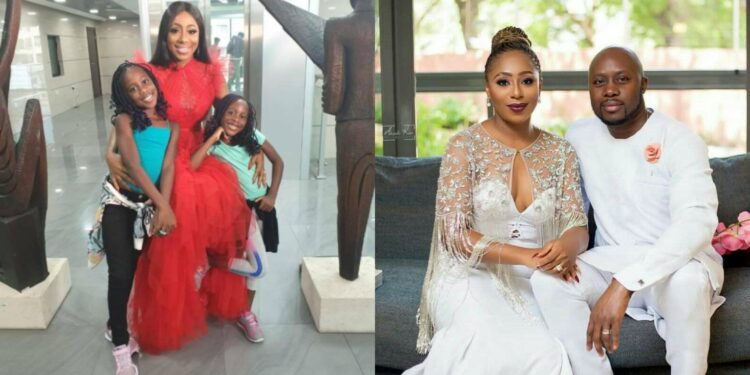 Dakore Egbuson's marriage allegedly ended due to her inability to give birth to a male child – Reports