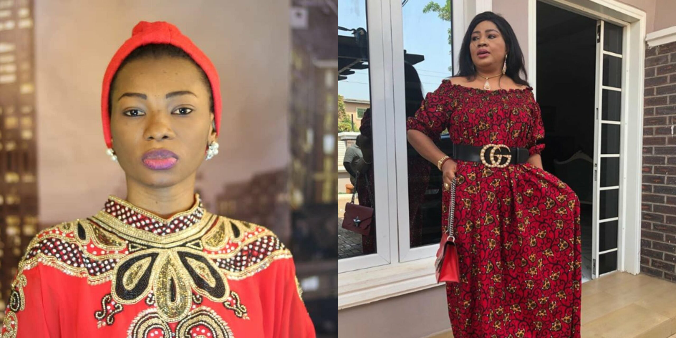 Instagram sex therapist Jaruma gifts Regina Daniels' mom Rita Daniels the sum of N1million