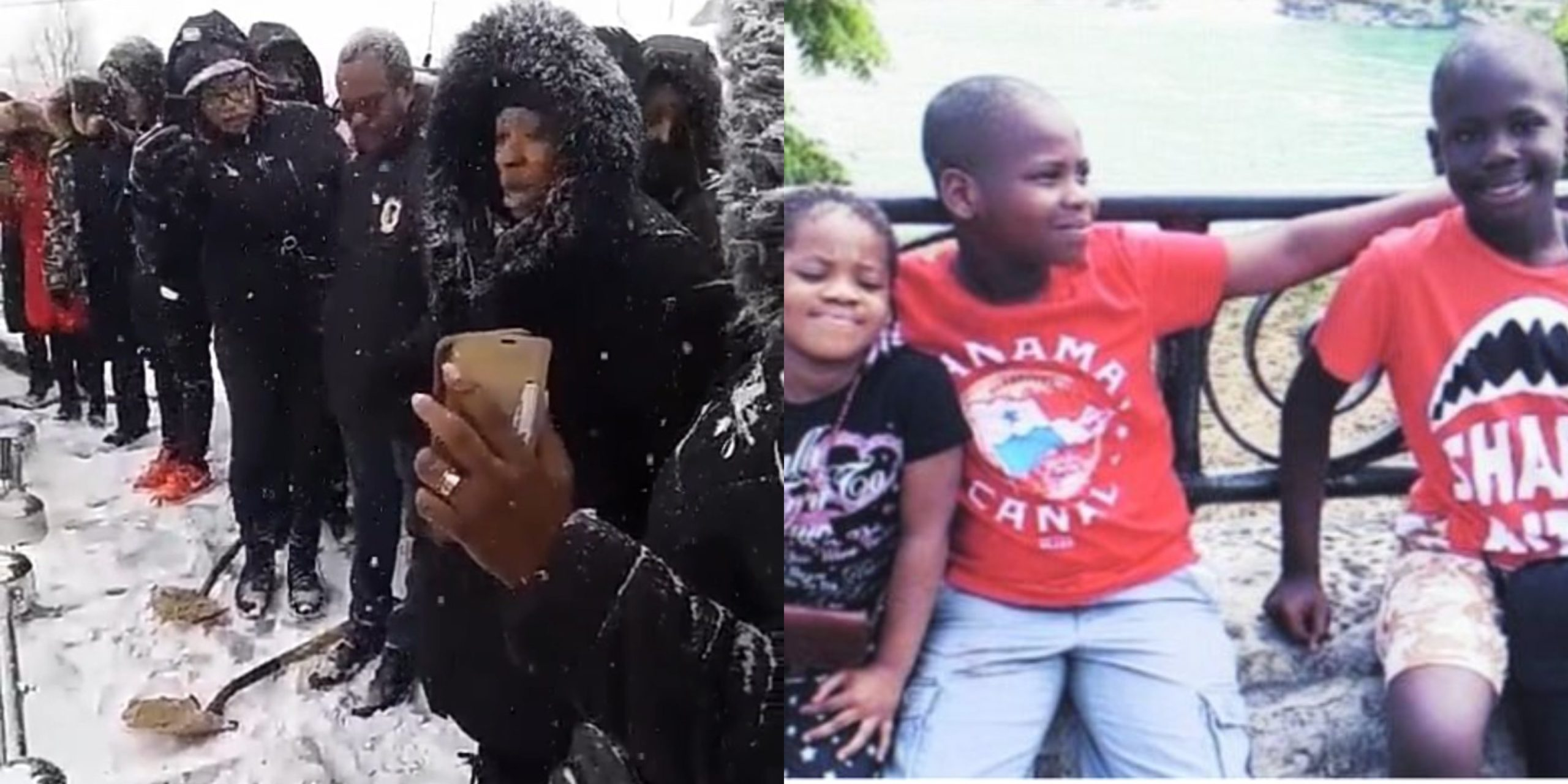I will win souls for Christ in your memories - Woman whose 3 kids died on New Year's Day buries them amidst tears (Video)