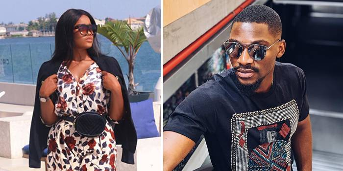 Cee-C allegedly visits estranged love-interest Tobi Bakre and this happened at his residence