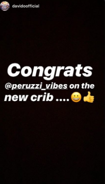 DMW's Peruzzi buys a new mansion amidst record label saga, Davido reacts