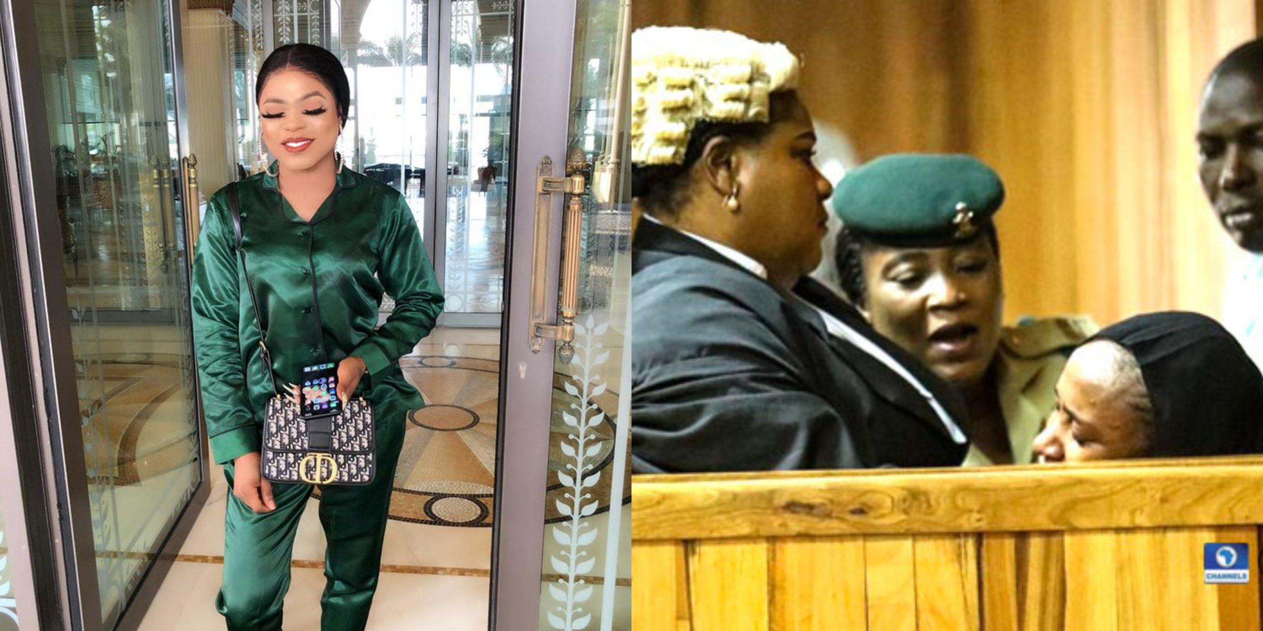 Bobrisky reacts to Maryam Sanda's death sentence, vows not to get married