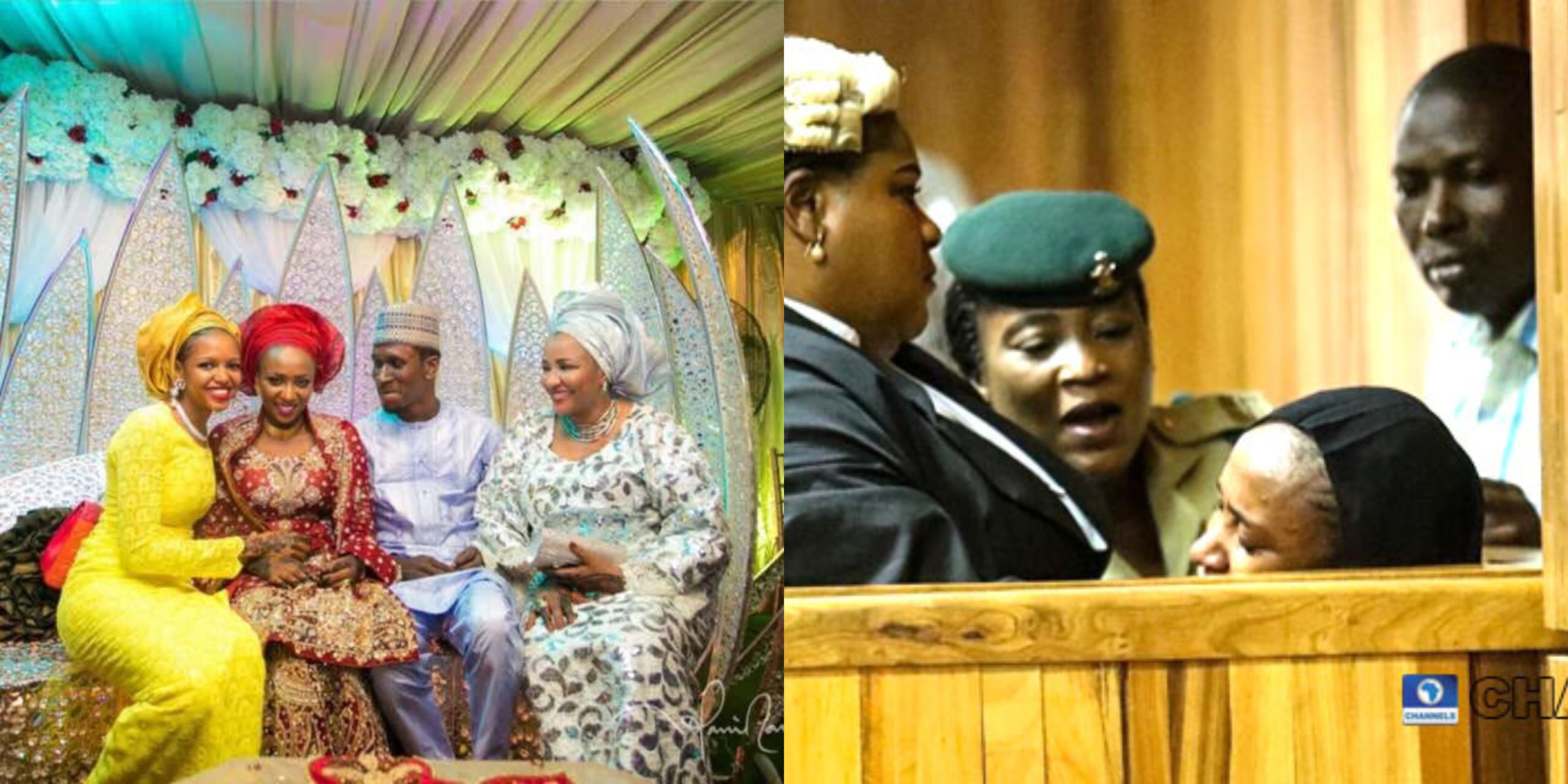 Yesterday, the media was sent into a frenzy after a court judgement was passed on Maryam Sanda, who fatally stabbed her Husband in 2017 after an argument. Maryam was sentenced to die by hanging. Nigerians on social media, including celebrities have since reacted to the judgement, calling it tragic for both parties as two lives would be lost in what could have been very preventable. Reports on social media also suggest that Maryam and her late husband were once a very happy couple and no one would have believed they had marital crisis. Well, Tontrends has retrieved a video via a Youtube channel, which corroborates the aforementioned sentence. Here's a throwback video of Maryam Sanda and her late husband, during their wedding reception.