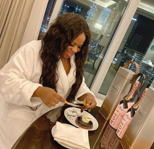 Cubana announces his wife's pregnancy, flies her to Dubai for her birthday & London for medical checkup (Video)