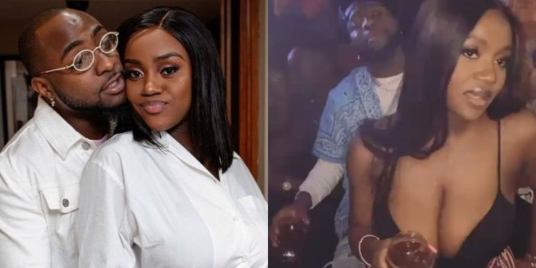 Update: Davido and Chioma's late night drive ended with loud music and lap dances in club (Video)