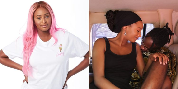 Big sister - DJ Cuppy finally reacts to Mr Eazi and Temi Otedola's 3-year-old relationship