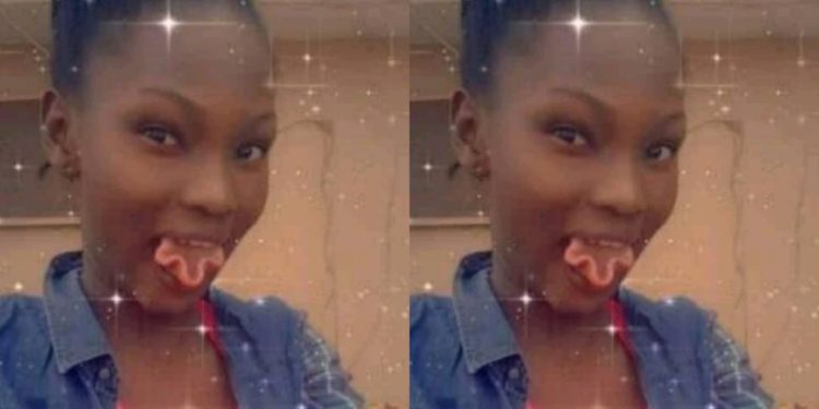 Girl with strange tongue causes mayhem online (Photos)