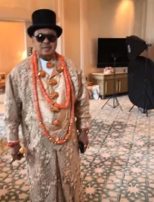 First photos and video from Davido's brother Wale Adeleke's lavish Dubai wedding