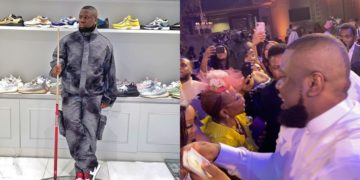 Hushpuppi sends strong warning to ladies who have been sliding into his DMs since he sprayed dollars at Wale Adeleke's wedding (Video)