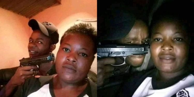 Sad story of a couple that poses with a handgun in their photos till the guy finally killed his babe