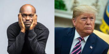 Send Nigerians in the USA back home - Comedian Mr Jollof orders Trump