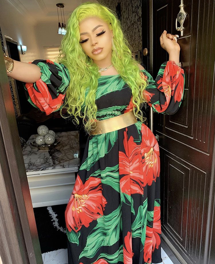 Look at my beautiful mansion and I'm just 28 - Bobrisky flaunts the house he built at a young age (Video)