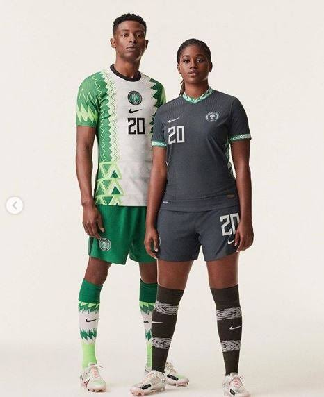Check out Nigeria's New Jersey released by Nike - Pass or Smash?