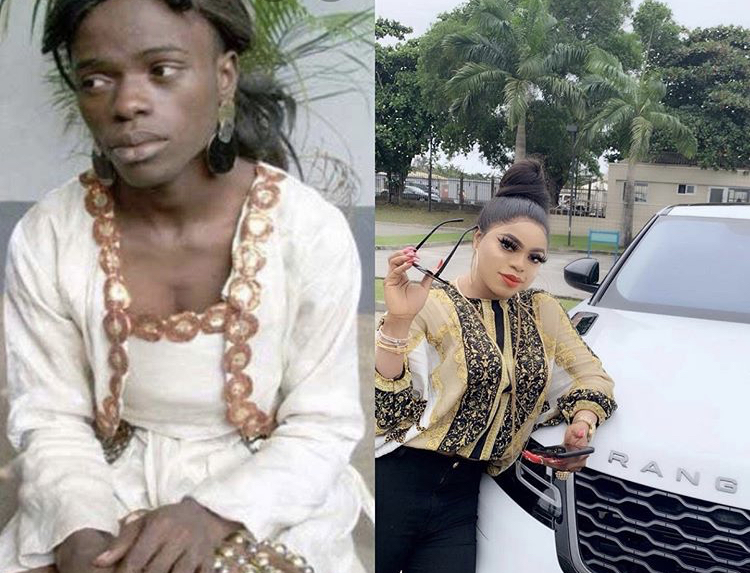 'When I was nobody VS when I became wealthy' - Bobrisky recounts when she was still a broke boy